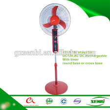 battery operated fan with timer 18 inch battery operated china round base rechargeable pedestal fan