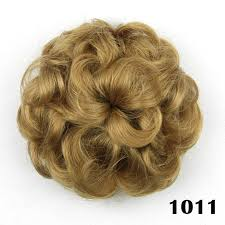 hair pieces for women wavy curly synthetic hair bun cover hairpiece clip in scrunchie