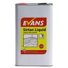 vanodine sirtan liquid wax floor a059tev2 1x5litre