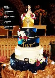 Wedding Cake Tangerang Wedding Cake By Pelangi Cake Bridestory Com