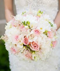 wedding flowers pink blush pink wedding bouquets archives weddings romantique