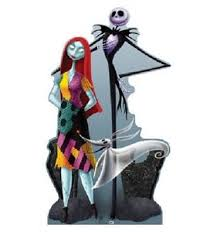 sally and zero standee a nightmare before
