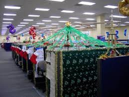 mesmerizing office cubicle christmas decoration themes for