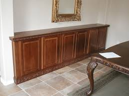 how to make a buffet table make buffet out cabinets tierra este 30886