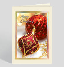 ornament cards personalized cards