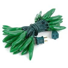 green chili pepper light strings with 35 lighted peppers novelty