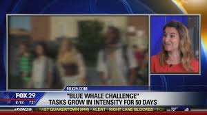 Challenge Fox News Blue Whale Challenge Killing Here Overseas Wtxf