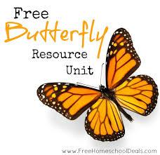 free butterfly resource unit free homeschool deals