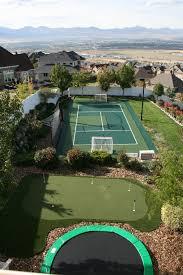 Backyard Sport Courts Residential Tennis Sportprosusa