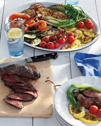 beef tenderloin menu dinner party easy grilling menus martha stewart