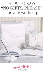 Quotes For Engagement Invitation Cards How To Say No Gifts Please Invitations By Dawn