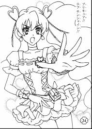 superb pretty cure coloring pages with pretty coloring pages