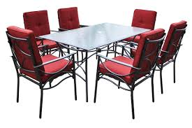 Red Patio Dining Sets - red patio set gallery image patio creawizard