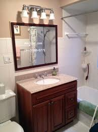 bathroom standard height for bathroom vanity light on a budget
