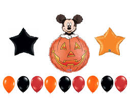 Halloween Birthday Invitations by Mickey Mouse Halloween Birthday Party Balloons