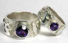 wolf wedding rings wedding rings