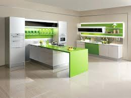 Modern Kitchen Cabinet Pictures Green And White Kitchen Cabinet Modern Kitchen Paint Ideas Green