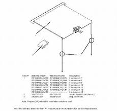 Rv Awning Parts Diagram Laurelhurst Distributors Parts Breakdown Awnings