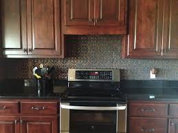 Traditional Kitchen Backsplash Tin Ceiling Tile Backsplash Stylish Along With Lovely Tin Kitchen