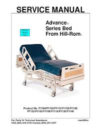 hill rom advanced electric bed service manual internetmed pdf