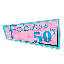 50s rock n roll decorations fabulous 50s cutout