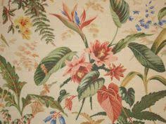 Vintage Drapery Fabric 1940 U0027s Upolstery Material Vintage Drapery Fabric Panel With