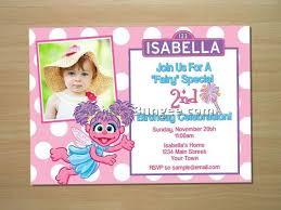 sesame street birthday invitations 8 best birthday resource gallery