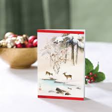 unicef market unicef cards boxed set asian deer