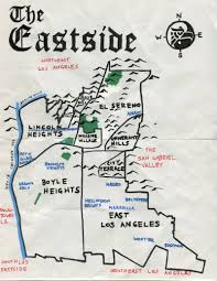 Map Of Gang Territories In Los Angeles by California Fool U0027s Gold An Eastside Primer At The Amoeblog
