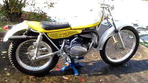 restored vintage motocross bikes for sale this is sold 1974 yamaha ty 250 ty250 vintage trials motorcycle
