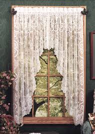 Heritage Lace Shower Curtains by English Ivy Swag Pair Heritage Lace