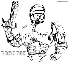 robocop coloring pages coloring pages to download and print