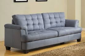 Modern Gray Sofa by Modern Style Blue Gray Sofa With Blue Grey Blended Linen L Shape