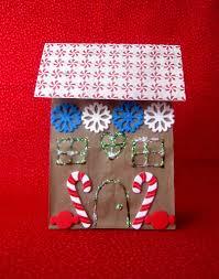 gingerbread paper bag craft winter crafts pinterest booklist