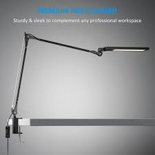 byb e476 metal architect swing arm desk lamp dimmable led task