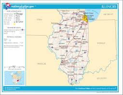map usa illinois template location map usa illinois doc