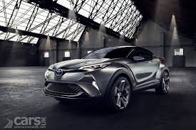 crossover toyota toyota c hr concept revealed as a funky urban crossover cars uk