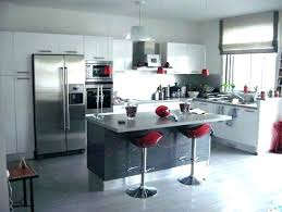 modele de cuisine ouverte sur salon model cuisine americaine cuisine americaine avec bar semi ouverte