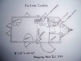 Vardo Floor Plans The Fortune Cookie U2013 Tiny House Swoon