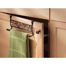 amazon com interdesign twigz over the cabinet kitchen dish towel