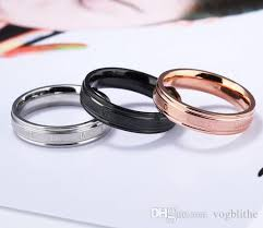 simple metal rings images Simple cute rings for women engravable engagement wedding band jpg