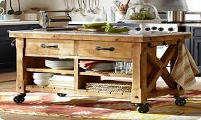 portable island for kitchen reclaimed wood kitchen island