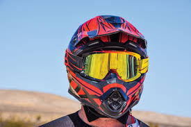 motocross helmet and goggles utv action magazine zox matrix carbon abyss helmet