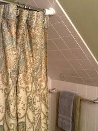 Bathroom Shower Rod Rod Solution For A Cape Cod Stye Home