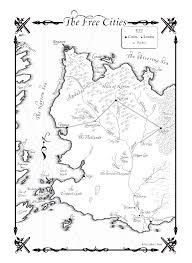 Map Of Kings Landing The Lands Of Ice And Fire The Maps Of Game Of Thrones Gaming