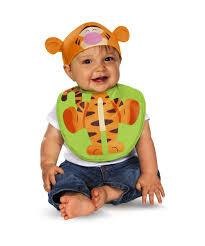 disney winnie the pooh tigger bib and hat baby halloween costume