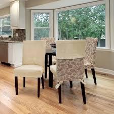 surefit set of 2 waterproof dining chair covers beige