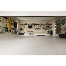 Menards Wall Shelves Tips Get Your Garage Under Control With Rubbermaid Fasttrack