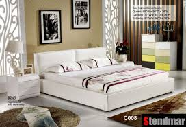 Fabric Platform Bed Details About Modern Nail Fabric Platform Bed P001 Ebay