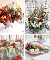 christmas tabletop decoration ideas 50 great easy christmas centerpiece ideas digsdigs within table